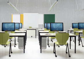 Designing seminar rooms.