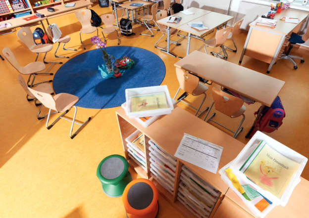 Classrooms – learning and working areas.