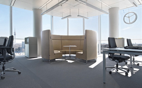 Neutra Furniture Collection by VS To the site Living space the office To the showroom