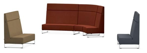 vs serie lounge hiback sitzelemente. Black Bedroom Furniture Sets. Home Design Ideas