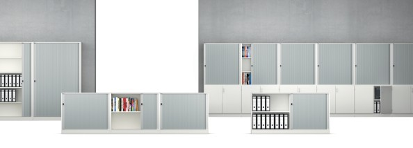 Vs Serie 800 Horizontal Roller Shutter Cabinets 100 To 160 Cm Wide
