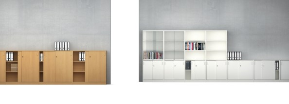vs serie 800 schiebet r glasschiebet r und rollladenschr nke 80 bis 180 cm breit. Black Bedroom Furniture Sets. Home Design Ideas