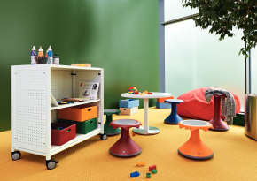 Furniture for childcare.