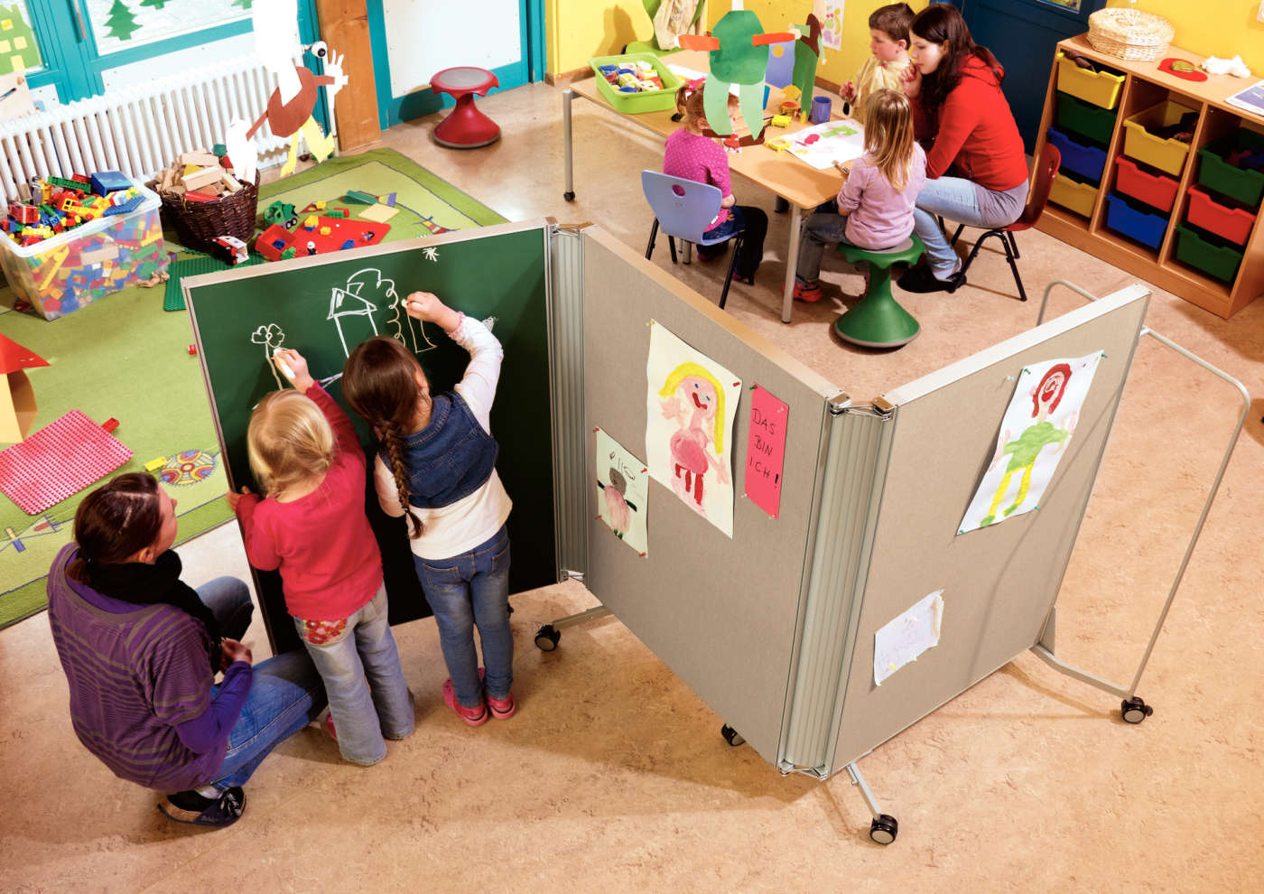 Kindergarten interior design image in 3d - Kindergarten Interior Design Image In 3d 40