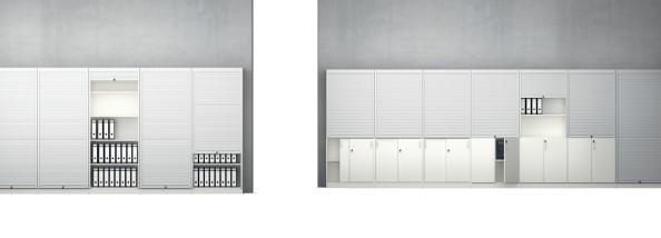 Vs Serie 800 Armoire A Rideau Fermeture Verticale Largeur 80 Cm