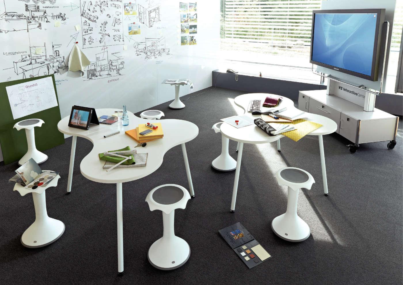 Vs b rom bel f r den lebensraum b ro for Design thinking tisch