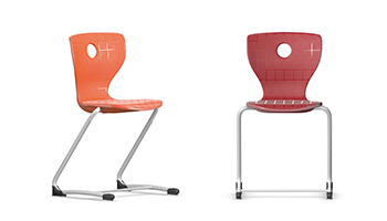 The PantoSwing LuPo Cantilever Chair Has A Comfortable Air Cushion Seat  Shell Offering Comfort Throughout The Long School Day.