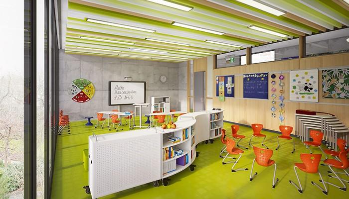 Vs lern und lebensraum schule for Raumgestaltung schule