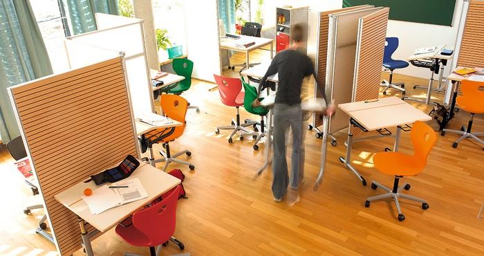 Vs bewegungsf rdernde schule der raum als dritter for Raumgestaltung schule