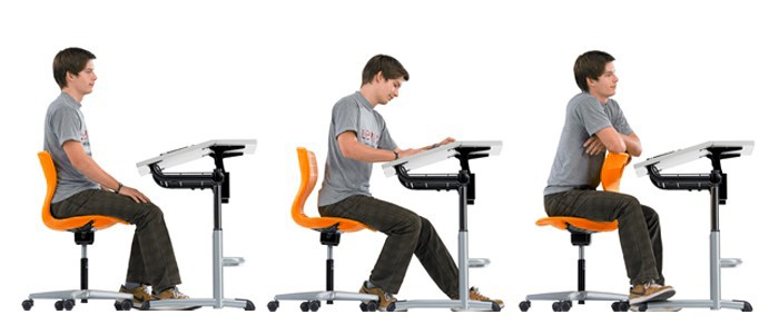 how to sit properly in class