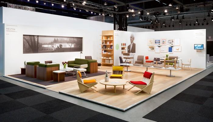 VS   Neutra Möbel präsentiert in Skandinavien