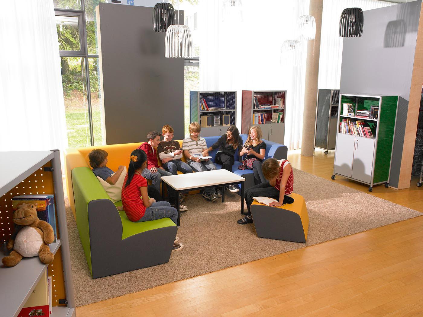 Vs meubles scolaires ergonomiques for Arredi biblioteche